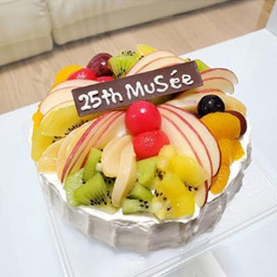 25周年ケーキ