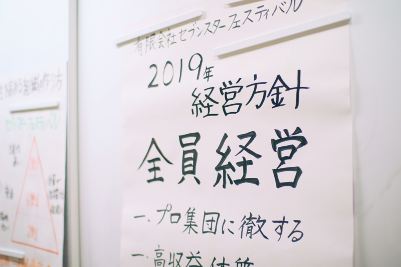 2019経営方針