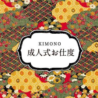 KIMONO 着物 成人式のお支度